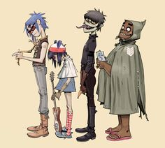 Wallpaper Gorillaz