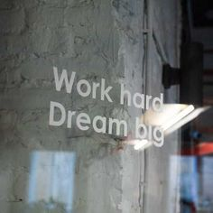 Dream Big, Work Hard, Quote Of The Day, Denim Jeans, Dreaming Of You, Personal Style, How To Become, Articles, Inspirational Quotes