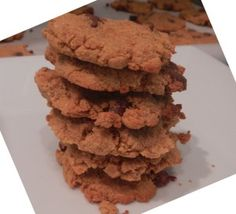 Coconut Flour Chocolate Chip Cookies Recipe: Coconut flour, 4 eggs.  Wheat-free, Corn-free, Dairy-free.  Not Vegan