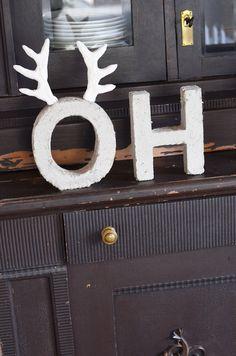 Weihnachtsdeko s 39 bastelkistle pinterest winter for Weihnachtsdeko buchstaben