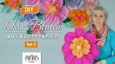 DIY: Riesige Blüten aus Krepppapier – Teil 2 [How to] | Deko Kitchen