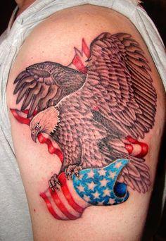 eagle and flag by asussman.deviantart.com on @deviantART