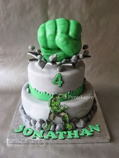 Hulk cake recipes pinterest hulk cakes cake and birthdays 24 incredible hulk party ideas for the ultimate hulk smash pronofoot35fo Choice Image