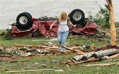 Oklahoma Tornado -  Wake of Destruction ...praying for Oklahoma - 2 mile wide F5 tornado tore through Oklahoma, leaving complete dismay, saying that is a major understatment.