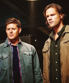 Sam and Dean, S9 - Gah, you guys... #AttractiveBrothersAreAttractive