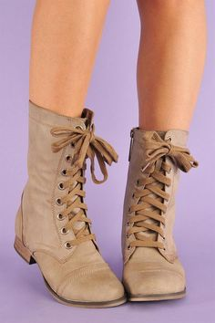 cute lace up boots, perfect, perfect color and everything