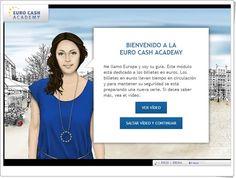 """""""Euro cash academy"""" (Los billetes del euro)"""