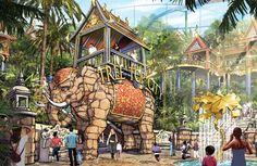 Wanda Group theme parks construction updates