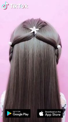 Super easy to try a new ! Downloa today to find more amazing videos. Also you can post videos to show your unique hair styles! Life's moving fast, so make every second count. Unique Hairstyles, Girl Hairstyles, Braided Hairstyles, Popular Hairstyles, Hair Videos, Hair Designs, Hair Hacks, Short Hair Styles, Hair Styles Easy