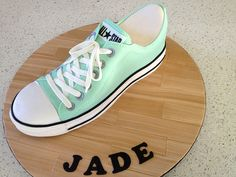 Converse cake by marthamakescakes, via Flickr