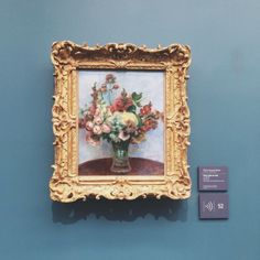 Find images and videos about art, flowers and painting on We Heart It - the app to get lost in what you love. Renoir, Monet, Picasso, Anna Disney, Galerie D'art, Old Art, Art And Architecture, Unique Art, Art Museum