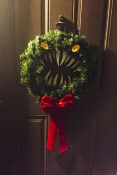 My Nightmare Before Christmas wreath