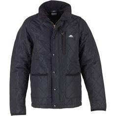 Buy Trespass Boys Dakoto Quilted Jacket Black