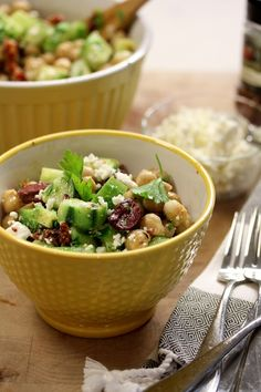 Mediterranean Chickpea Salad from With Style.