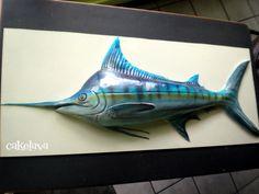 marlin cake by Rick Reichart. www.cakelava.com