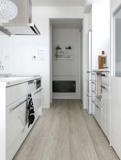 キッチン アイランドキッチン リクシル 白黒 モノトーン マイホーム