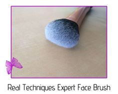 review - real techniques expert face brush Real Techniques, How To Apply, Makeup, Face, Make Up, The Face, Beauty Makeup, Faces, Bronzer Makeup