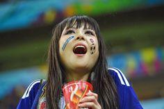 Foto-foto Suporter Cewek Cantik Sexy di World Cup 2014 | Lengkap | Kabar Bola