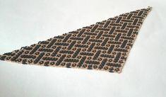 PDF scheme pattern wickerwork neckerchief solitaire beaded shawl beaded Netted Beaded Scarf tutorial digital file pdf pattern beading
