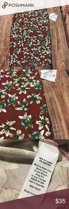 LuLaRoe Cassie Floral Pencil Skirt LuLaRoe Cassie Floral Pencil Skirt LuLaRoe Skirts Pencil