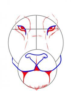 """Learn How to Draw a Tiger Face FREE Step-by-Step Online Drawing Tutorial , Rainforest animals, Animals free step-by-step drawing tutorial will teach you in easy-to-draw-steps how to draw """"How to Draw a Tiger Face"""" online. Tiger Face Drawing, Lion Drawing, Pencil Art Drawings, Art Drawings Sketches, Cool Drawings, Drawing Skills, Drawing Lessons, Drawing Guide, Tiger Painting"""