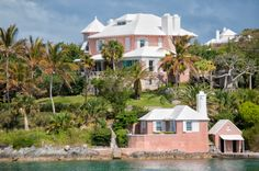 bermuda home | Little Pink Houses or What Color is Your Roof? - churchthought.com