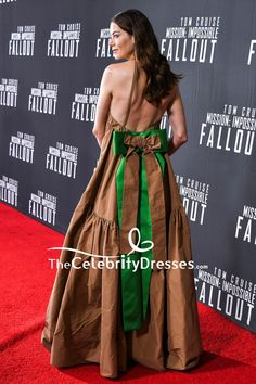 #MichelleMonaghan #HalterDresses #BacklessDresses #EveningDress US Premiere Of Mission Impossible — Fallout - #CelebrityDresses #RedCarpet