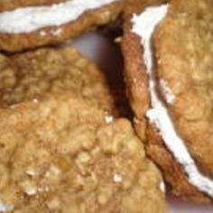 Oatmeal Cream pies, and put a dollop of Hershey's chocolate with hazelnut spread in the middle of the marshmallow fluff for a nice little surprise to the tastebuds