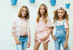 #Pastel #Lovers: For a #sweet #spring #color #trendy #MKids #tunica