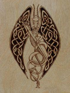 Celtic Flying Dragon by shyhobbit on DeviantArt