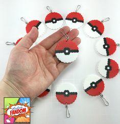 12 Pokemon Party Favors Zipper Pulls Keychains by MadamFANDOM