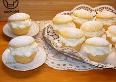 Apple Muffins, Camembert Cheese, Cookie Recipes, Food And Drink, Cupcakes, Bread, Cookies, Hungarian Recipes, Recipes For Biscuits