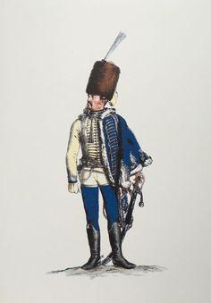 Plate 140. Husaren-Regiment No.10                   Offizier