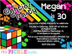 47 Best Neon Party Images Glow Party Neon Party Invitations
