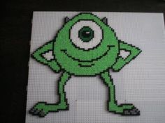 Monsters Inc. Pixar Mike hama beads by marmotte88130
