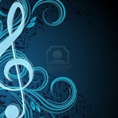 Notes musical vector background Stock Photo - 10867313