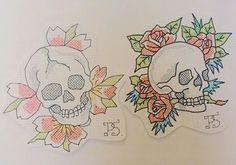#татуха #татуировка #татуэскиз #эскиз #череп #черепа #графика #олдскул #розы #цветы #крестик #вышивка #пара #татувышивка #tattoo #tattoosketch #sketch #skull #skulls #graphic #oldschool #rose #flowers #crossstitch #tattoostitch #pair #tattooembroidery