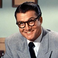 "George Reeves as Clark Kent on Syndicated ""The Adventures of Superman"" 1952-58"