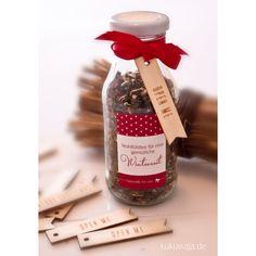 Teemischung / Geschenke aus der Küche / homemade gift / Gastgeschenke / selbstgemacht / Glücklichmacher / Xmas / DIY Set / inajar / Geschenke im glas / Weihnachten / Verpackungsidee