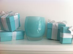 aquamarine glassybaby - the perfect #Tiffany blue