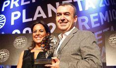 Lorenzo Silva, ganador del Planeta por 'La marca del meridiano'.