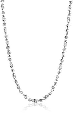 14k Italian White Gold Typhoon Chain 20mm Chain Necklace 18 -- Details can be found by clicking on the image.(This is an Amazon affiliate link and I receive a commission for the sales)