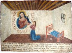 Ex-voto, Mexican miracle painting