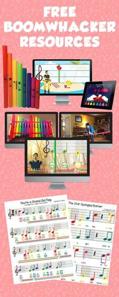 Free Boomwhacker Resources - Prodigies - Music Curriculum for Preschool & Primary School