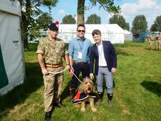 George the #Otterhound meets Ant and Dec #dogs #AntandDec