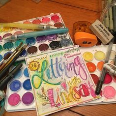 Lettering with Lindsay - Lesson ONE - Practical Printing