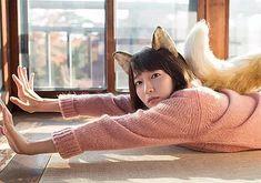 吉岡里帆 Japanese Beauty, Japanese Girl, Photo Reference, Caption, Actors & Actresses, Bean Bag Chair, Beautiful Women, Kawaii, Sexy