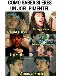 Read from the story Memes de CNCO 2 by TeamCNCOwnerss (CNCO 💫) with 522 reads. Soy un Joel 😂👌 Y ustedes? Memes Cnco, Text Jokes, Love Of My Life, My Love, Pretty Boys, Picture Quotes, Funny Texts, Boy Bands, Cool Kids