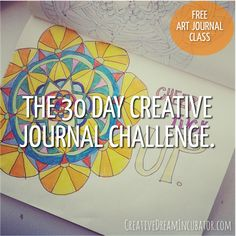 The 30 Day Creative Journal Challenge                                                                                                                                                                                 More