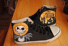 The Nightmare Before Christmas/ Jack Skellington Sneakers